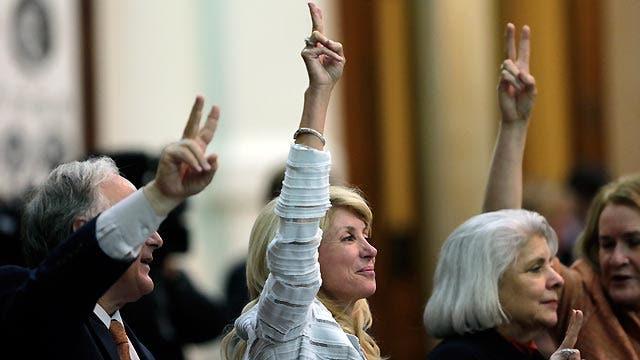 Political theater in Texas Senate