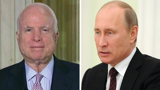 Sen. McCain on Russia refusing to turn over Snowden