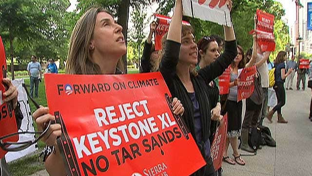 Controversy Over Keystone XL Oil Pipeline