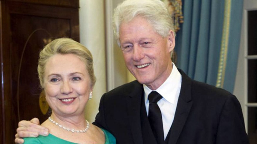 Why are the Clintons talking finances?