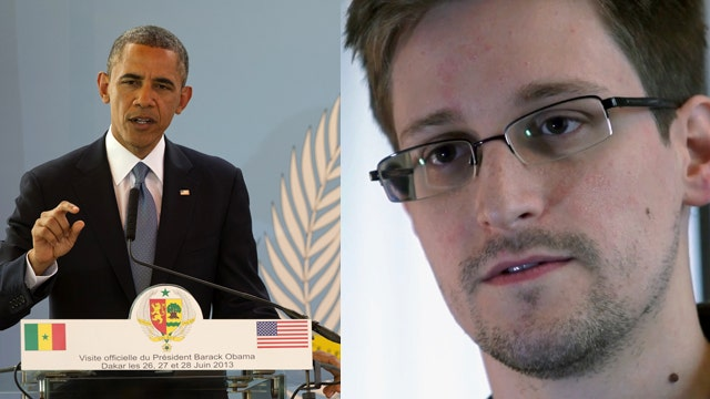 Obama says he won't make deals for Snowden extradition