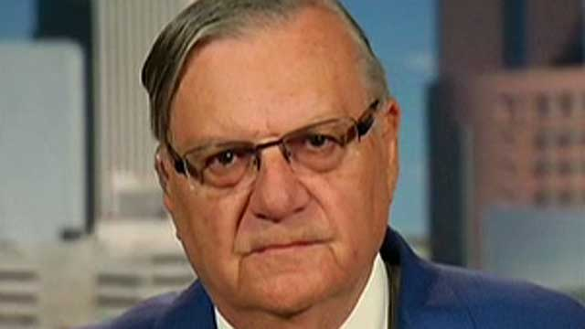 How would Sheriff Joe Arpaio secure the border?