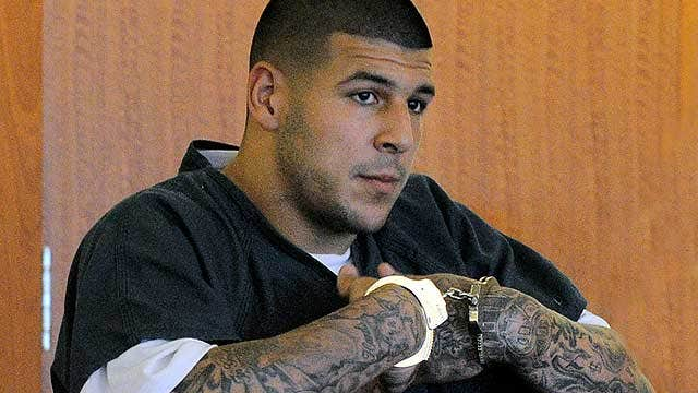 Aaron Hernandez back in court, denied bail