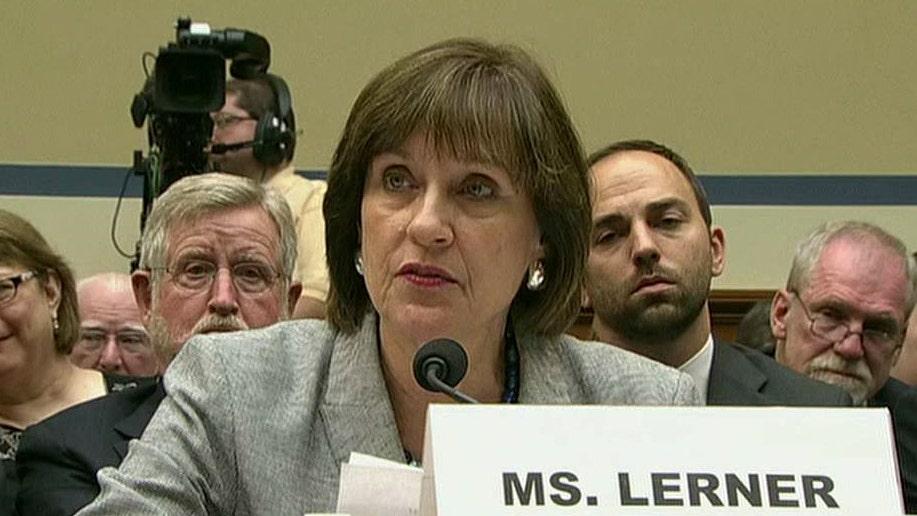 Did Lois Lerner waive Fifth Amendment right?