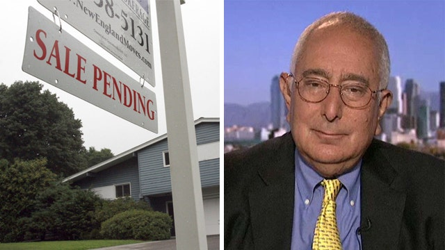 Ben Stein: Mortgage rate spike a 'very good sign'