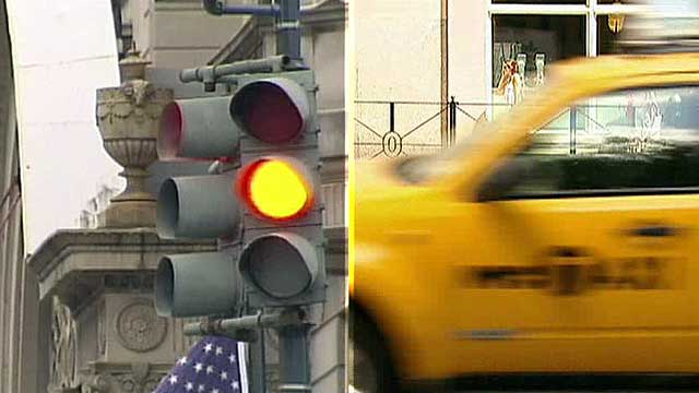 NYC fixing traffic lights to hand out more tickets?