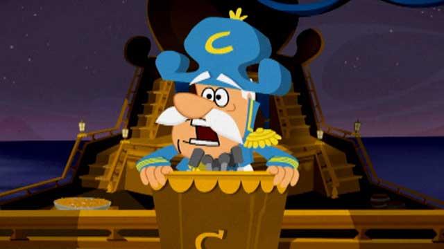 Cap'n Crunch goes into damage control