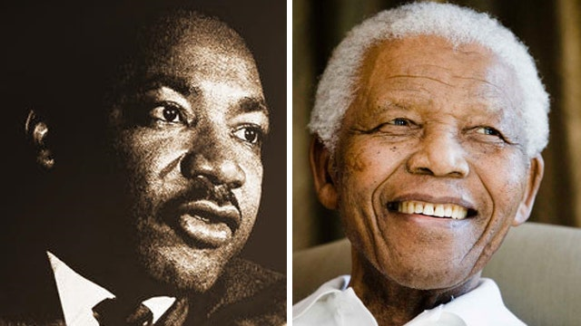 How Nelson Mandela, Martin Luther King Jr. changed history