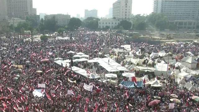 Huge protests against President Morsi in Egypt