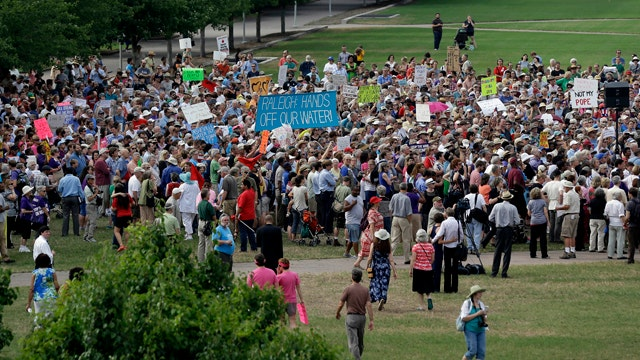 'Moral Monday' protests in North Carolin