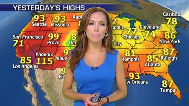 National forecast for 7/1