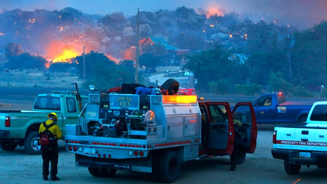 Wildfire kills 19 firefighters