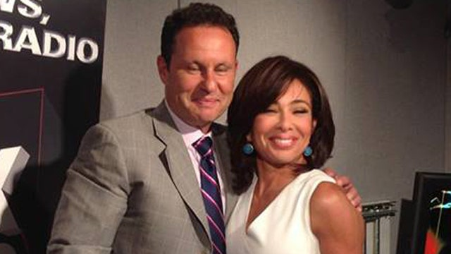 Brian and Judge Jeanine Pirro
