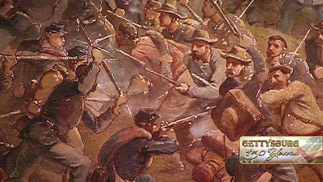Commemorating 150th anniversary of Gettysburg