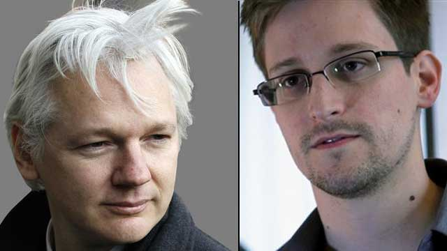 WikiLeaks founder encourages Edward Snowden to keep running