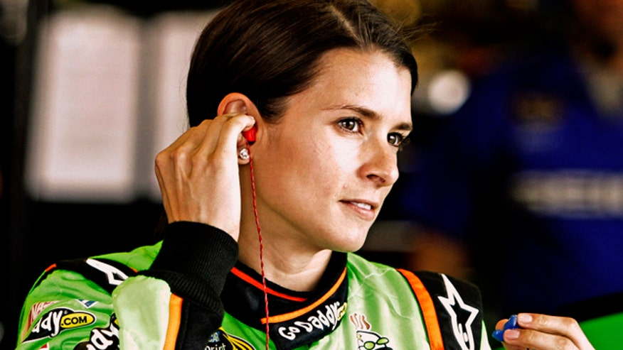 Danica Patrick replied to Kyle Petty's remarks about her racing skills.