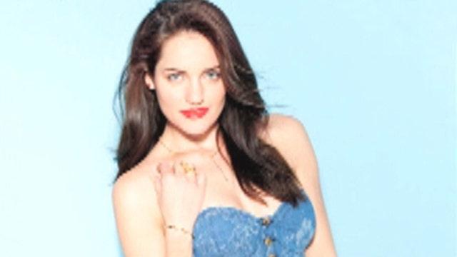 Break Time: 'Breaking Amish' star Kate poses for Maxim