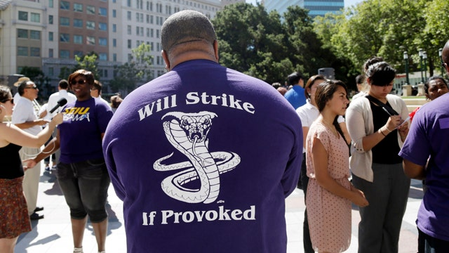 Strike continues for transit workers