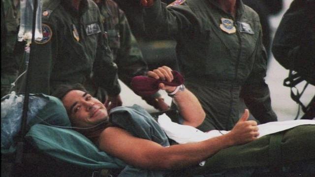 'Black Hawk Down' pilot meets challenges head on