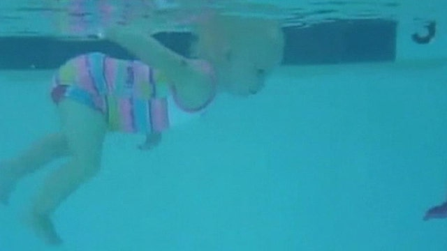 Is it never too early to learn how to swim?