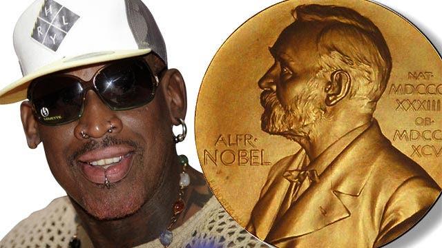 Grapevine: Nobel Peace Prize for Dennis Rodman?