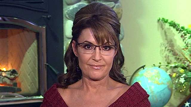 Palin: 'Ring leader' Obama doing nothing about IRS circus