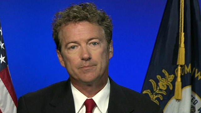 Like father, not like son? Sen. Paul amplifies pro-Israel message