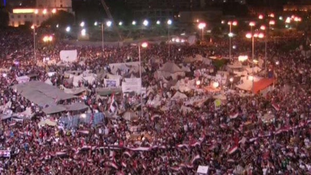 Evaluating administration response to unrest in Egypt