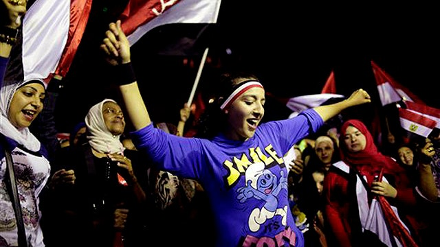 Coup is a 'revolution protected by the army'