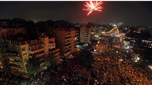 Military coup sweeps through Egypt