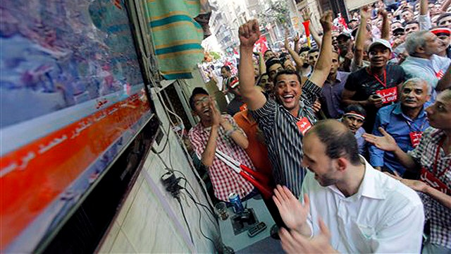 A look at administration reaction to unrest in Egypt