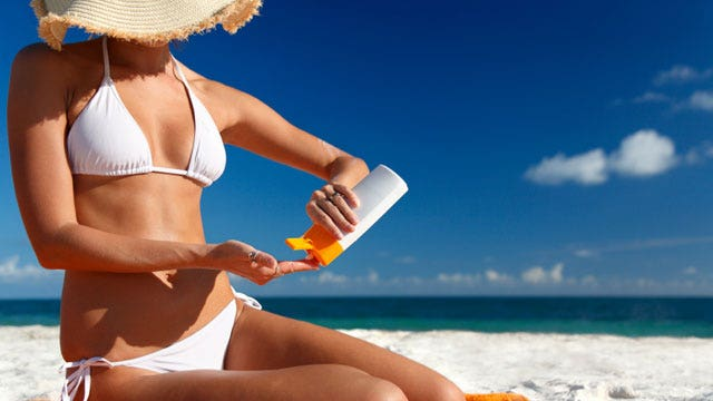 Avoiding summer skin problems