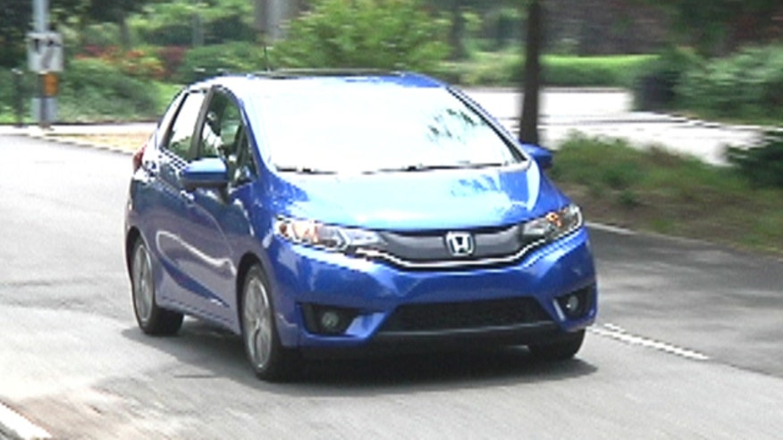 Fox Car Report's Gary Gastelu tries the 2015 Honda Fit on for size.