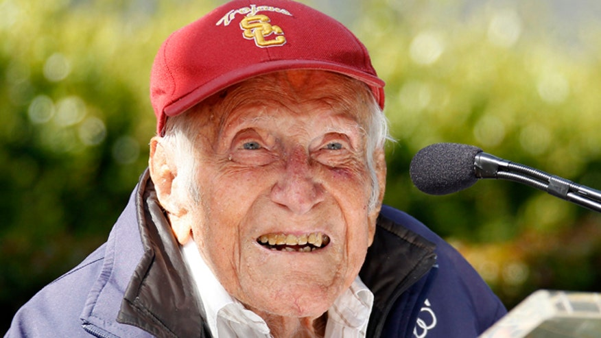 Inspirational WWII prisoner of war and Olympian dead at age 97