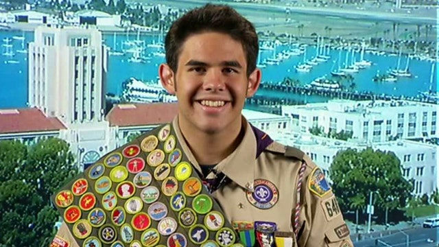 Eagle Scout earns every merit badge