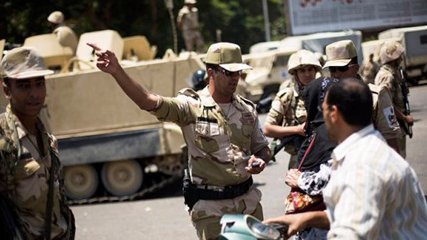 Egypt's new interim leader steps in