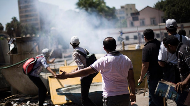 Protests reportedly turn deadly in Egypt
