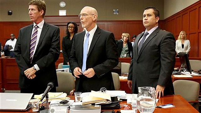 Defense argues evidence is insufficient in Zimmerman case