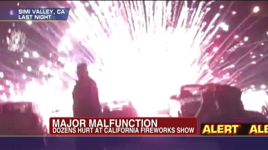 Dozens hurt at July 4 Fireworks Extravaganza in Los Angeles