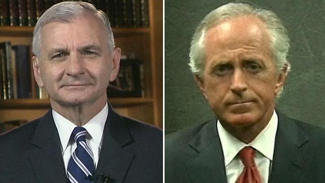 Sens. Corker, Reed talk US response to turmoil in Egypt