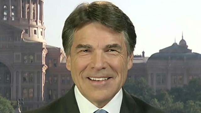 Gov. Rick Perry on polls, political future, abortion battle