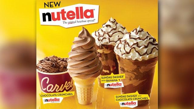 Carvel's Nutella summer treats