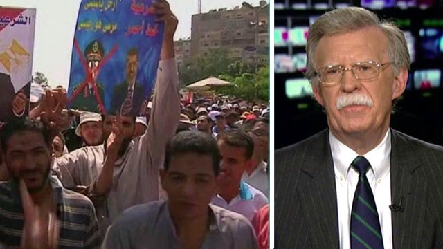 Debate over administration response to turmoil in Egypt