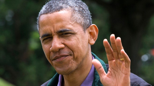Fox poll: Obama's job approval rating sliding in second term