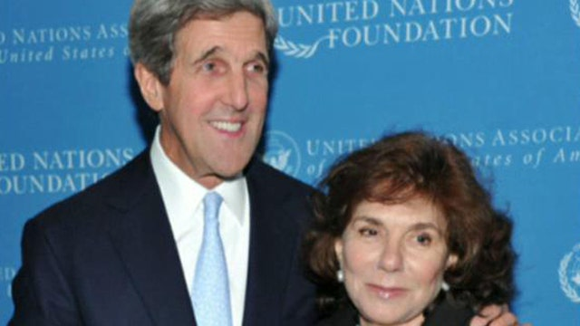 Secretary Kerry's wife hospitalized in critical condition