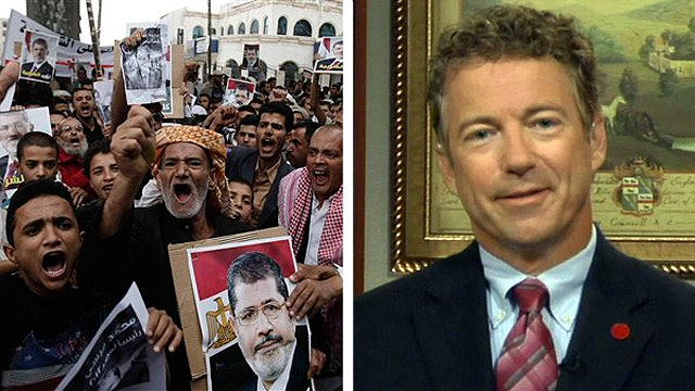 Sen. Paul: US sending aid to Egypt is a 'mistake'