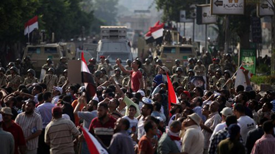 Assessing path forward amid Egyptian unrest