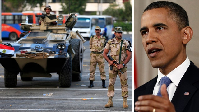 Is Obama ignoring the law to continue aid to Egypt?