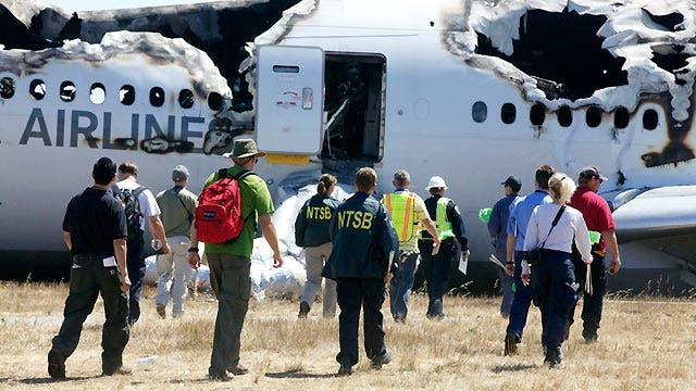 Update on investigation into San Francisco plane crash