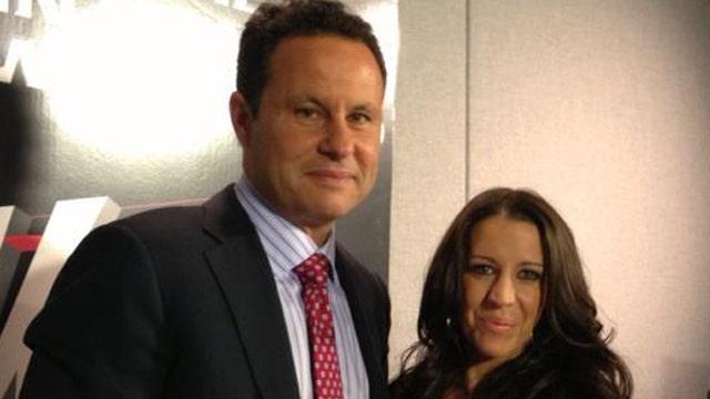 Brian Kilmeade and Pattie Mallette